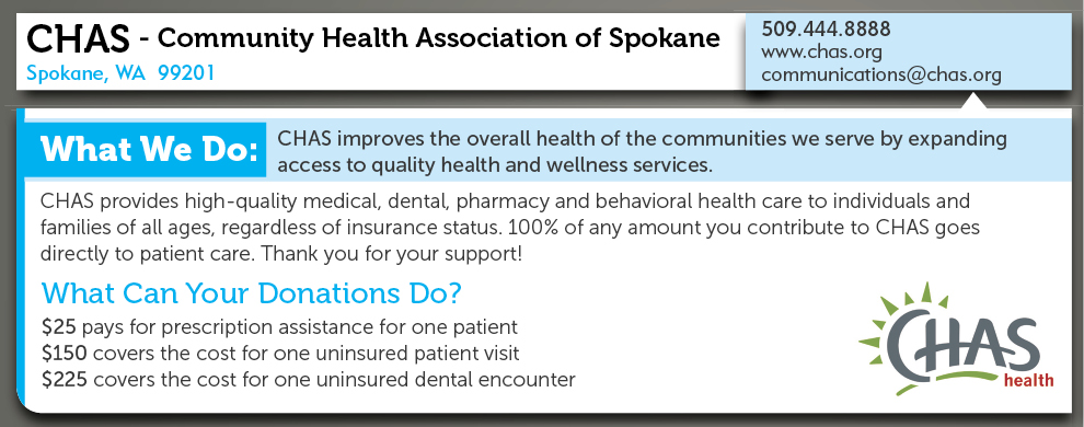 Community Health Association Of Spokane