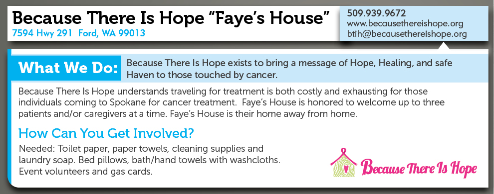 "Because There Is Hope ""Faye"