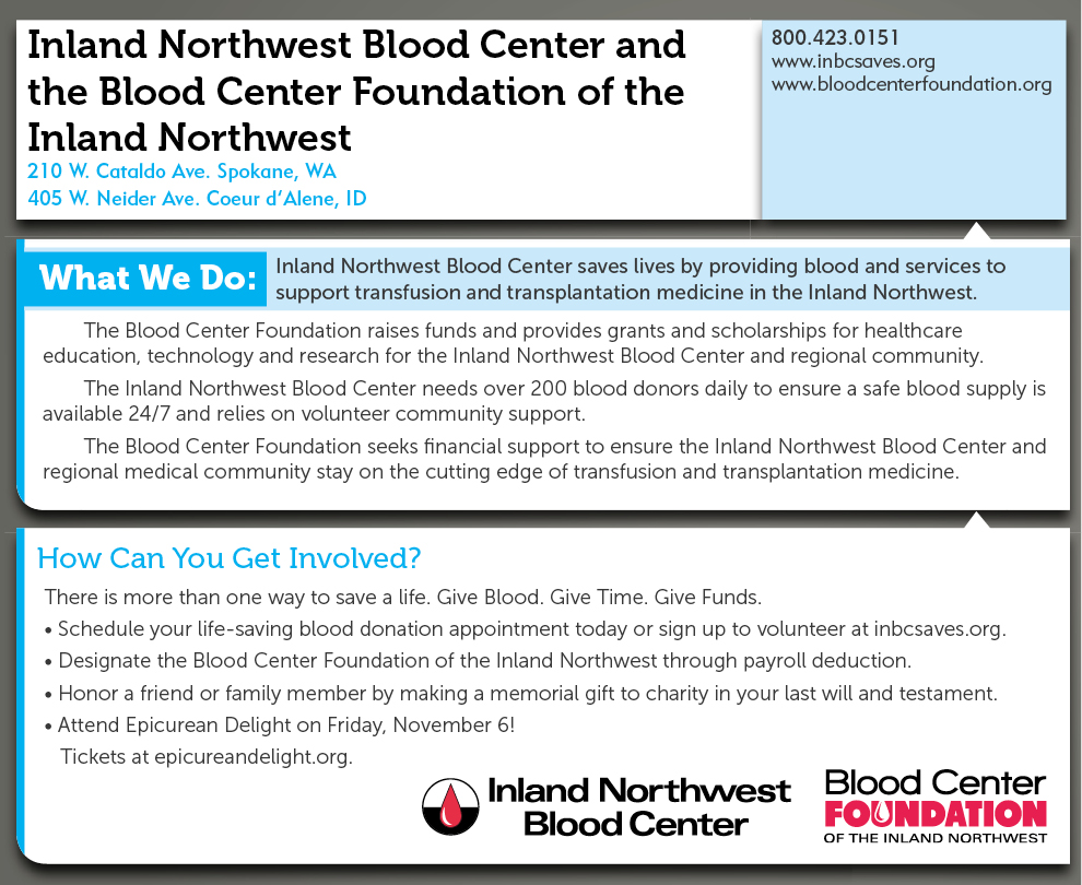 Inland Northwest Blood Center - INBC