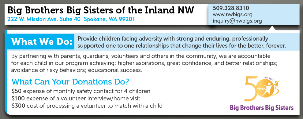Big Brothers & Big Sisters of the INW