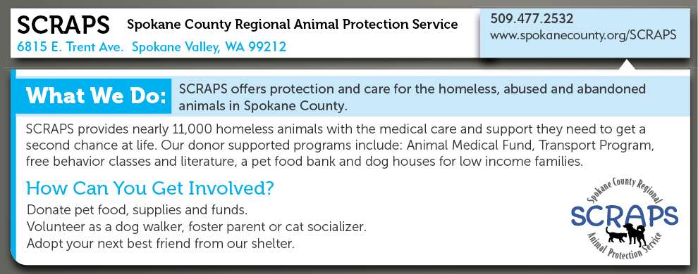 Spokane County Regional Animal Protection Service (SCRAPS)