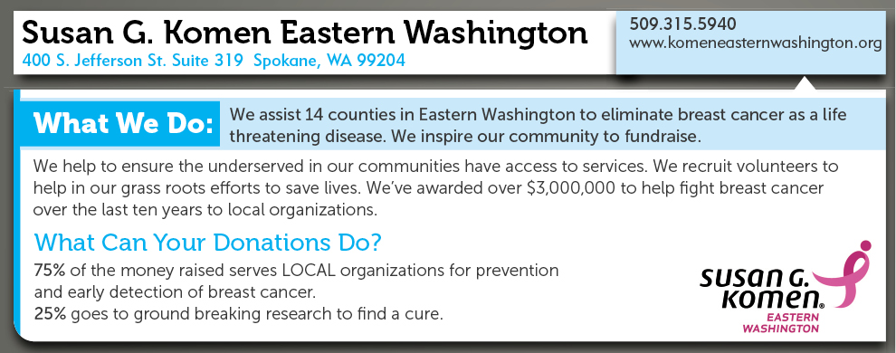 Susan G. Komen For the Cure Eastern Washington
